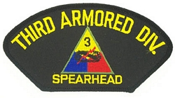 3rd Armored Division Patches